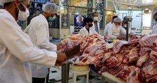 گزارش تصویری نذر گوشت ویژه برنامه قربان تا غدیر